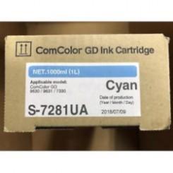 Краска синяя ComColor GD (Ink Catridge Cyan) (S-7281E)